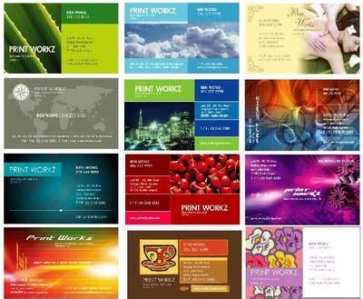 template kartu nama pribadi kami melayani berbagai desain cetakan karim corporation