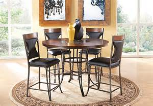 gainesville 5 pc counter height dining room dining room sets metal