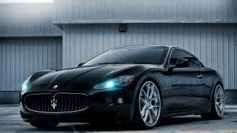 Maserati Cars 2014 2014 Maserati Gt Black Car Hd Desktop Wallpaper Background