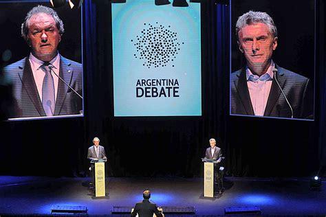 argentina debate ecos de argentina debate en las redes sociales