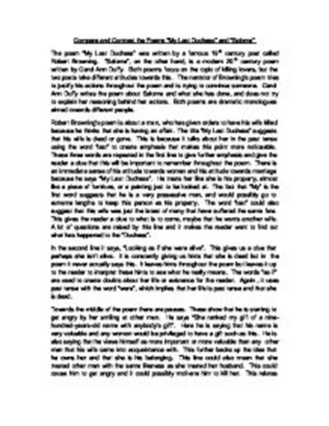 My Last Duchess Essay by My Last Duchess Analysis Essay Copywritingtraining X Fc2