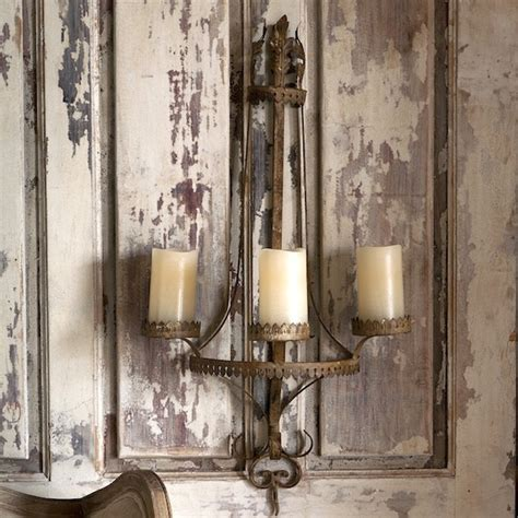 Kitchen Canisters French by Park Hill Collection Metal Wall Sconce Candleholder Xh1479