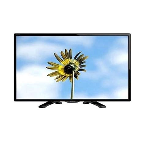 Sharp 32 Led Tv Hitam Aquos Lc 32le150m jual sharp aquos 24le170i tv led hitam 24 inch