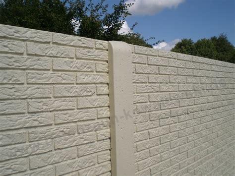 becker betonzaun betonzaun standard betonzaeune kowalewski