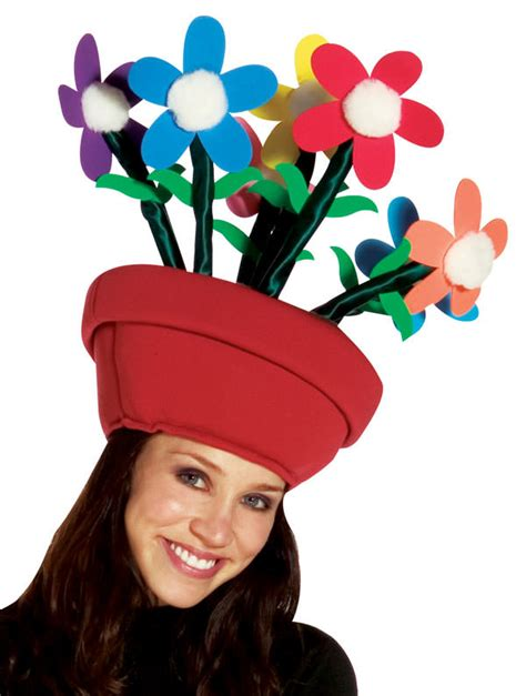 flower pot hat costume craze