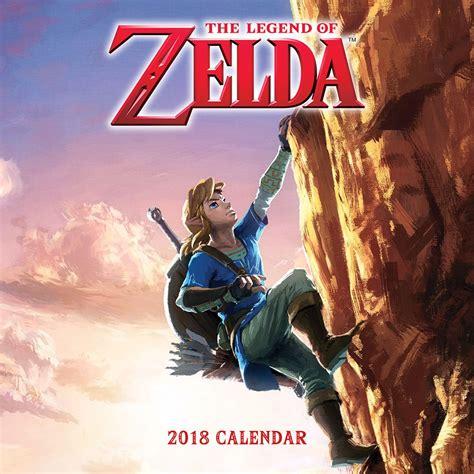 adventure time 2018 wall calendar the legend of 2018 wall calendar features breath of