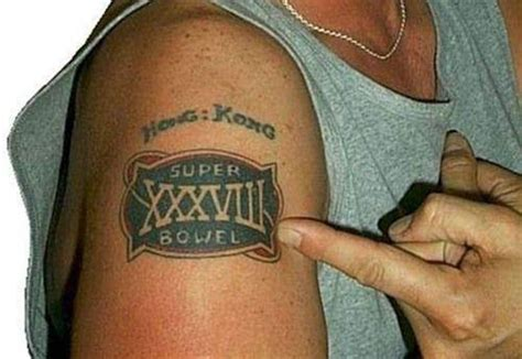 patriots tattoo fail this was the one where the patriots flushed carolina s