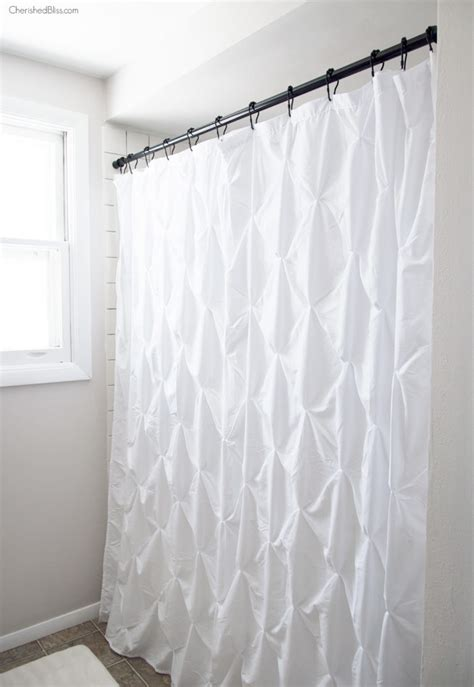 farmhouse curtains industrial farmhouse bathroom reveal cherished bliss