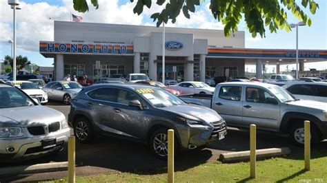 Honolulu Ford by Here S How Much Lithia Motors Paid For Honolulu Ford S