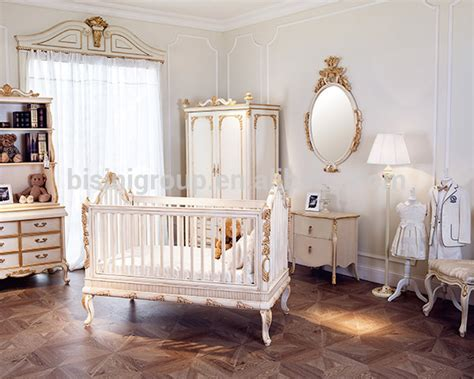 Golden Baby Crib Luxury Wooden Baby Crib Royal Golden Carving New Born