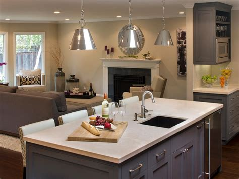 kitchen sink in island the possibilities of storage under kitchen islands with