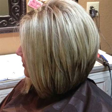 long in the front stacked in the back medium length hairstyles longer in front stacked in back
