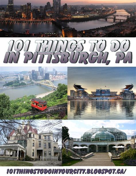 101 things to do 101 things to do in pittsburgh pa