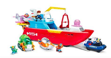 walmart paw patrol boat nickalive paw patrol named no 1 toy property in the uk