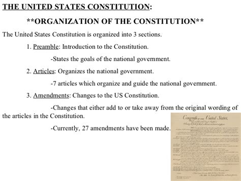 the introductory section of the us constitution 2011 united states constitution