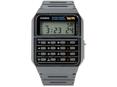 Casio Calculator Js 120tvs Sr calculators casio mens twincept databank ani digi resin