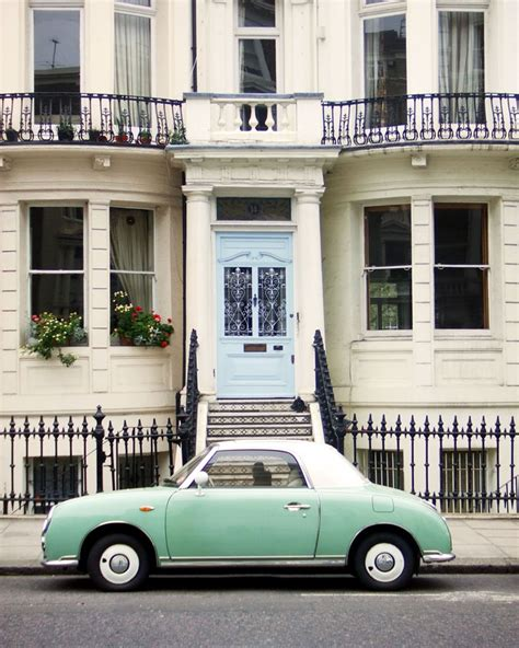 nissan figaro mint green nissan figaro and a town house sure my kinda modes of