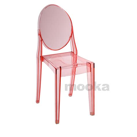 Pink Ghost Chair by Pink Side Chair High Quality 40 45 50 60cm One Side