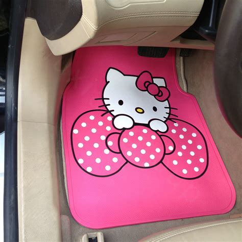 Hello Floor Mats by Image Gallery Hello Car Mats