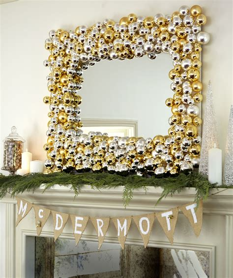 mirror decoration at home diy holiday decor ideas from tori spelling easy diy