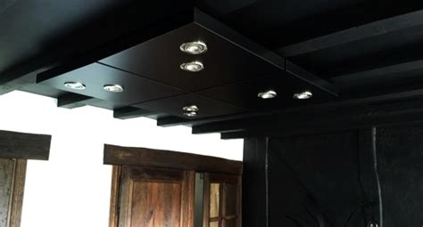 Ceiling Table by Diy Kitchen Ceiling Lighting Made From Lack Tables