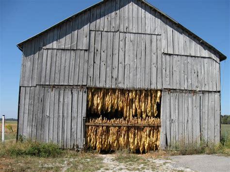 tobacco barn old barns pinterest