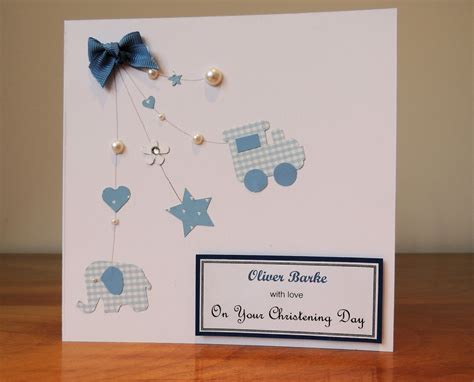 baptism cards to make the card craft room christening card