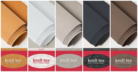 How To Make Fabric Stiff Like Paper - learn all about kraft tex leather fabric so sew easy