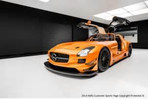 Mercedes Sls Gt3 Photo Of The Day Orange Mercedes Sls Amg Gt3 Gtspirit