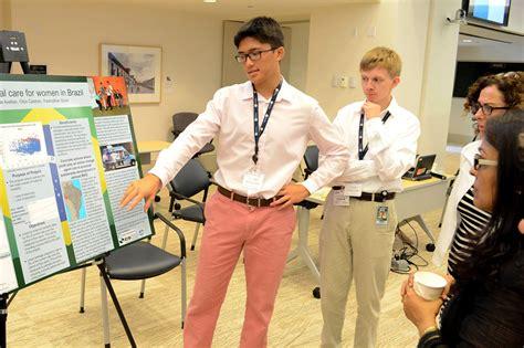 world bank internship landon school
