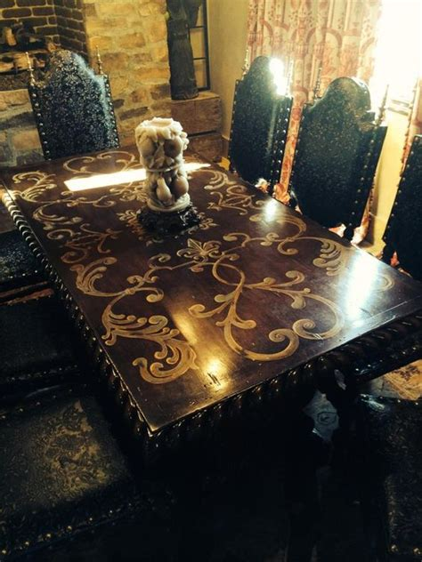 custom dining room sets my dream dinning room set custom dining table by rebecca