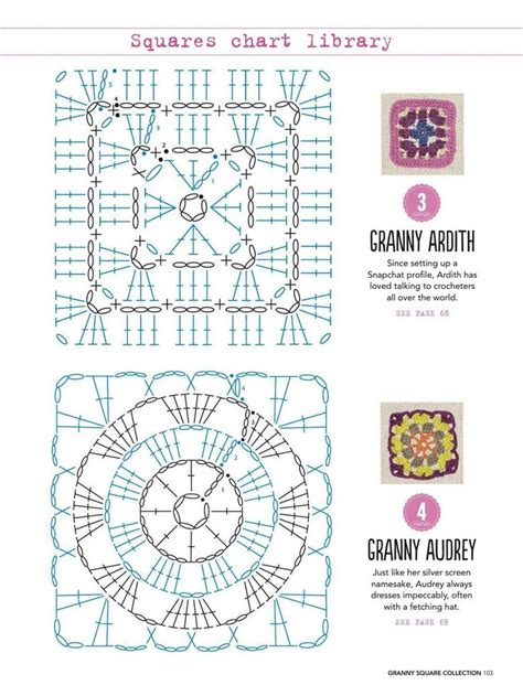 crochet square pattern diagram 3630 best images about crochet motifs squares on