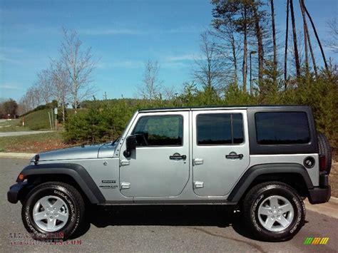 2016 jeep sport silver 2016 jeep wrangler unlimited sport 4x4 in billet silver