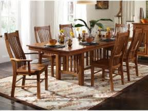 oak dining room table chairs marceladick