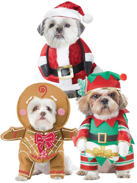 cat themed clothing ebay dog christmas fancy dress costumes santa elf funny pet cat