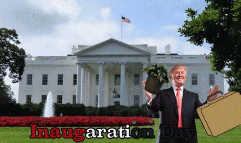 donald j trump inauguration day white house magnet donald trump inauguration day maison blanche image gif anim 233