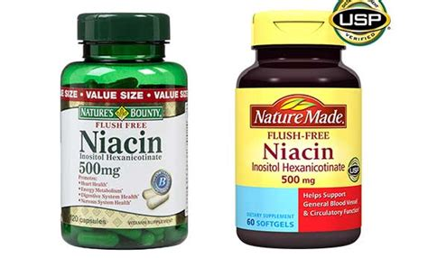 Best Detox Supplements For Thc by Niacin Flush Pills Test Www Pixshark Images