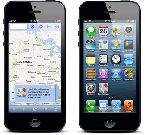 Google Images On Iphone | google maps iphone app cafeios net