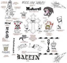 the world 2pac s tattoos lyrics meaning