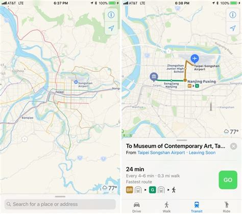 Hopstop Subway Directions Now Available For Your Phone by Apple Maps Transit Directions Now Available In Taiwan