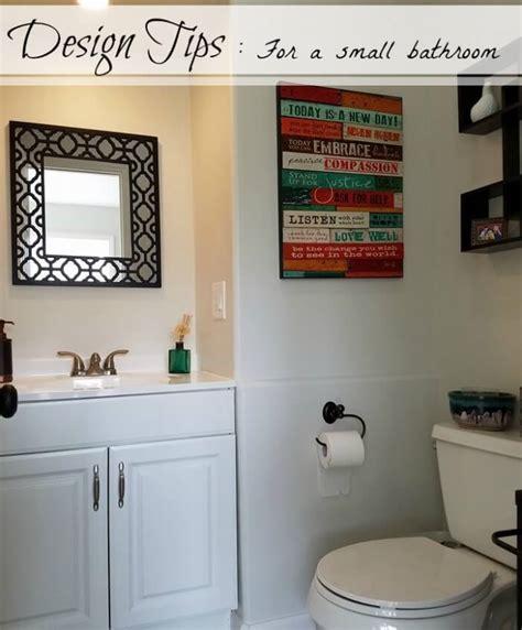 bathroom design tips design tips for a small bathroom highlights along the way