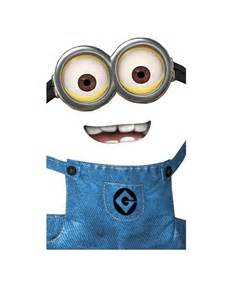 minion cutout template favor bag template minions templates