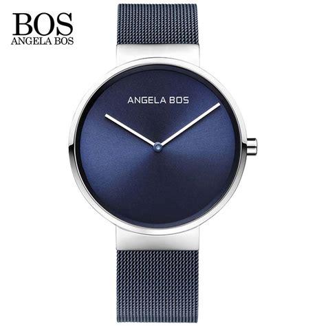 nordic design watches angela bos ultra thin simple nordic design watch men