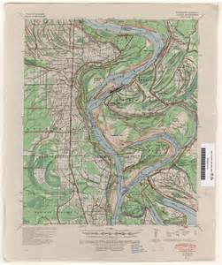 topographic map free mississippi topographic maps perry casta 241 eda map