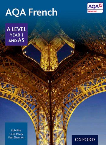 aqa a level year 1 and as french student book oxford university press