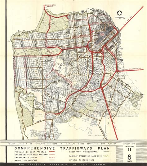 san francisco freeway map what would san francisco looked like without the