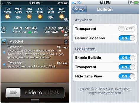 notification center themes cydia iphone notification center cydia apps