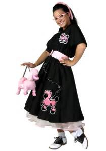halloween poodle skirt costumes deluxe poodle skirt costume