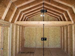 barn style sheds with loft better built barns