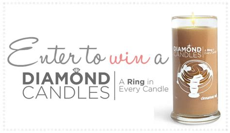 Diamond Candle Giveaway - diamond candle giveaway wildflowers whimsy